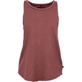 United By Blue Sun Seeker High Neck Tank Women Red